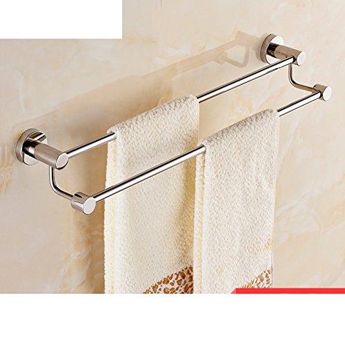 Stainless steel Towel rack/Bathroom Towel Bar/Towel bar single rod towel rack-L well-wreapped