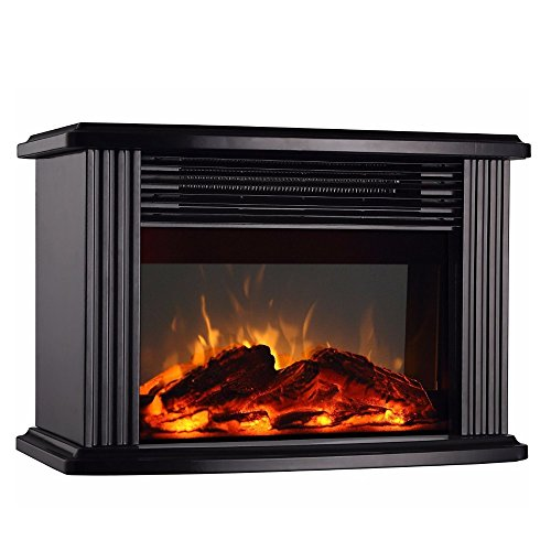 DONYER POWER 14 Mini Electric Fireplace Tabletop