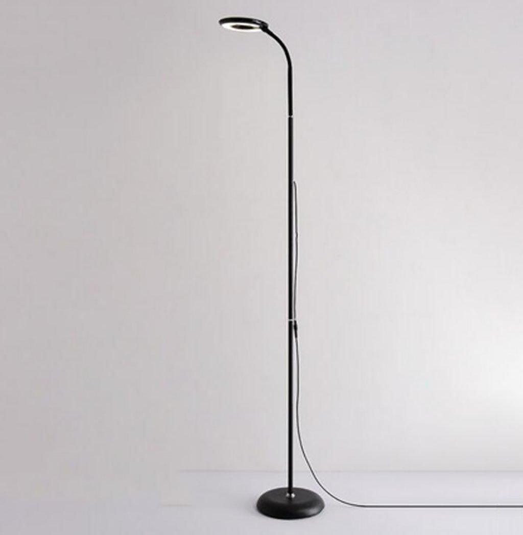 フロアランプ LEDフロアランプリビングルームシンプルな近代的なアイケアフロアランプベッドルームの研究読書垂直テーブルランプ 北欧スタイル (色 : ブラック, サイズ さいず : 152*22*15cm) B07RLV3SMV ブラック 152*22*15cm