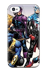 Durable Protector Case Cover With Marvel Hot Design For Iphone 4/4s