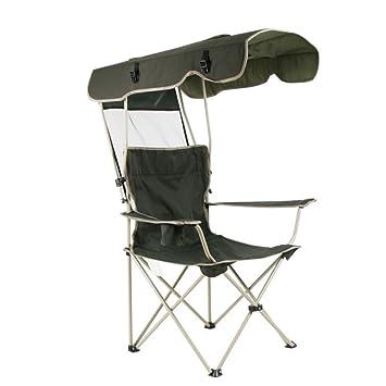 HM&DX Sillas de Camping Plegables Exteriores con Dosel de ...