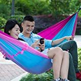MAZIMARK--Double Person Travel Outdoor Camping Tent Hanging Hammock Bed With Mosquito Net