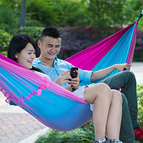 MAZIMARK--Double Person Travel Outdoor Camping Tent Hanging Hammock Bed With Mosquito Net by MAZIMARK