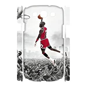 Michael Jordan Brand New 3D Cover Case for Samsung Galaxy S3 I9300,diy case cover ygtg-688826 hjbrhga1544