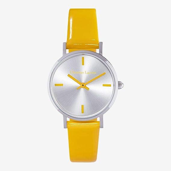 Christian Lacroix – Reloj Mujer – Acero Milanais – Reloj Plata – Pampille Mano