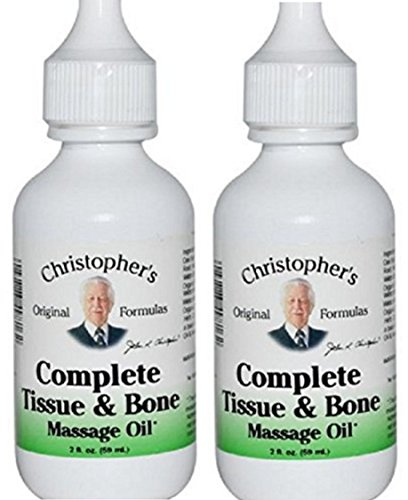 Oil Christophers Tissue Complete Massage (Dr Christopher's Formula Complete Tissue and Bone Massage Oil, 2 oz -2 Pack)