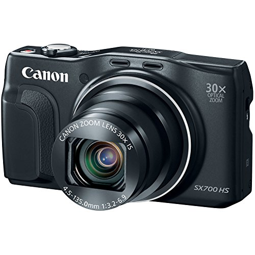 Canon PowerShot SX700 HS Digital Camera - Wi-Fi Enabled (Black) by Canon (Image #3)
