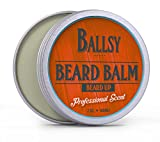 BALLSY Beard Balm Conditioner All-Natural Scented 9 Essential Oils Argan & Jojoba Oil & More – Promotes Beard Growth, Softens & Strengthens – Best Beard Balm for Men For Sale