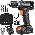 Tacklife 20-volt Max Cordless Drill/Driver Set