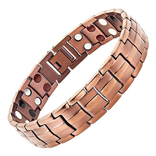 Willis Judd Extra Strong Magnetic 4 Element Titanium Bracelet Size Adjusting Tool & Gift Box Included