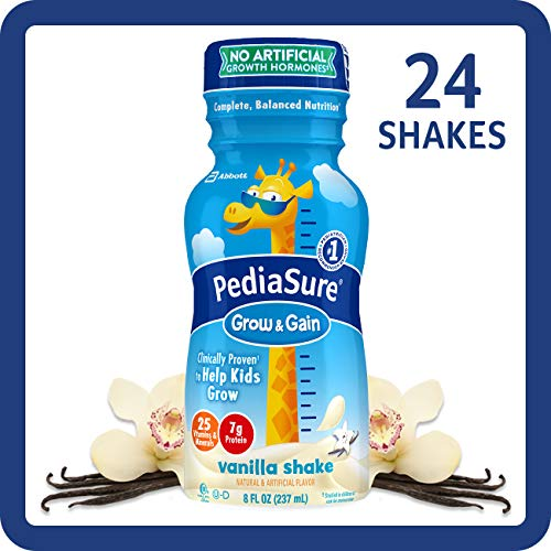 Miracle Grow Coupons - PediaSure Grow & Gain Kids' Nutritional Shake, with Protein, DHA, and Vitamins & Minerals, Vanilla, 8 fl oz, 24-Count