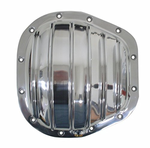 1986-UP Ford Sterling (F-250-F-350-Excursion) Polished Aluminum Rear Differential Cover - 12 Bolt w/ 10.5
