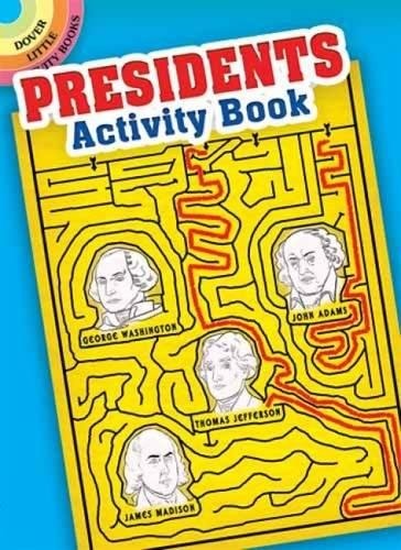 Presidents Activity Book