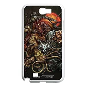 Samsung Galaxy Note 2 7100 White Cell Phone Case Game of Thrones Logo Phone Case