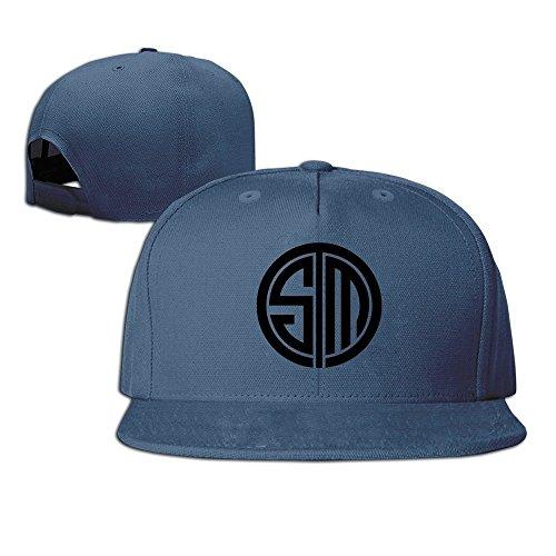MaNeg Tsm Team Solomid Swords Logo Unisex Fashion Cool Adjustable Snapback Baseball (Louis Vuitton Mens Jeans)