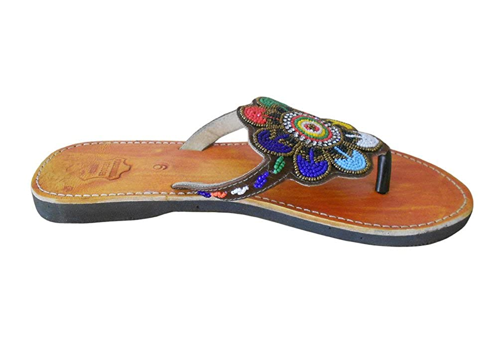 Kalra Creations Womens Traditional Indian Slippers Shoes Ethnic Flats