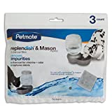 Petmate Replendish Charcoal Replacement Filters,...