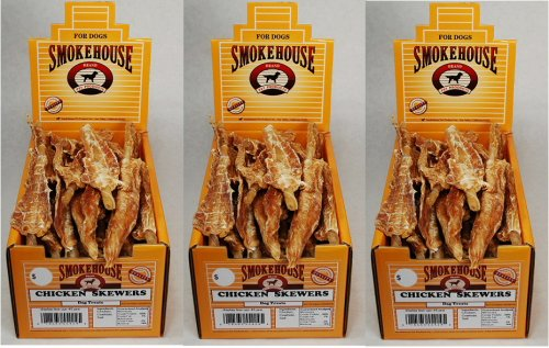 Smokehouse Chicken Skewers 135 ct (3x45ct) by SmokeHouse