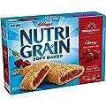 Kellogg's, Nutri-Grain Breakfast Bars, Cherry, 8 Count, 13oz Box (Pack of 4)