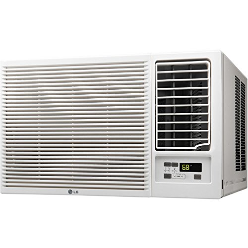 LG ENERGY EFFICIENT 12,000 BTU Air Conditioner Unit (Slide In-Out Chassis) with SPECIAL 230V Plug, Multiple Cooling/Heating Speeds and 24 Hour Timer, FREE Remote Control Included by LG