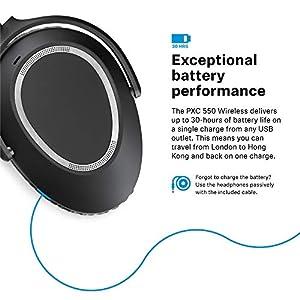 Sennheiser PXC 550 Cuffia Wireless da Viaggio con
