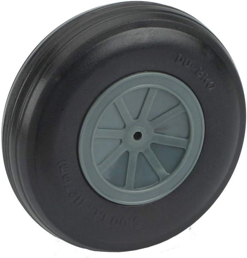 "2 Dubro 500TL Treaded Lightweight Wheel 5"" Remote Control Airplane Tire RC Vtg"