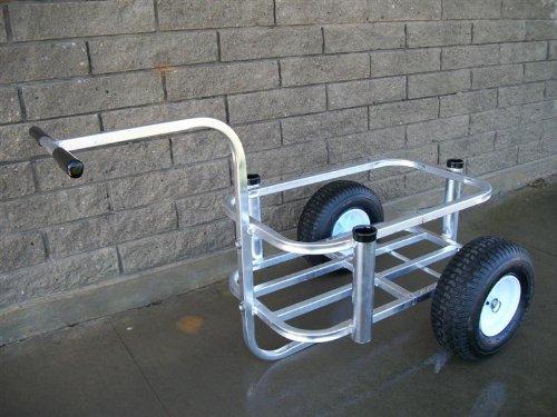 BASSPROSHOPS Reels on Wheels Beach Buddy Fishing Cart