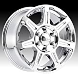 Ultra 450C Toil Van 16x6.5 5x160 +45mm Chrome Wheel Rim