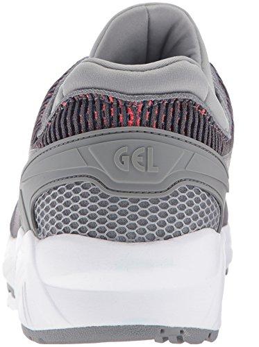 Asics Gel-Kayano Trainer EVO Maschenweite Turnschuhe Medium Grey/Guava