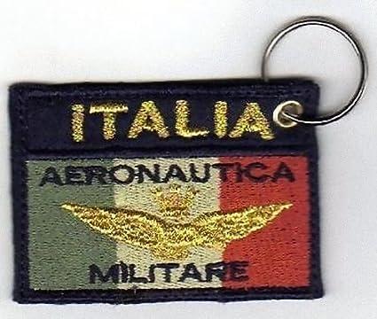 Llavero Aeronautica Militar bordado bordado - Baja ...