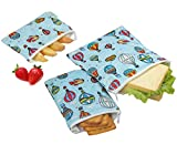 Wegreeco Reusable Snack Bags, (Set of 3) - Balloon