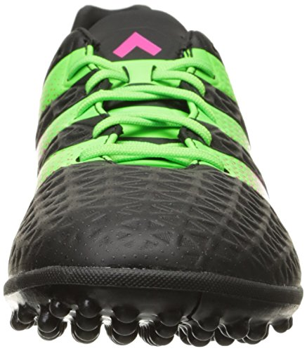 Chaussure De Football Adidas Performance Ace 16.3 Tf Black / Shock Green / Shock Pink