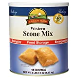 Augason Farms #10 can Western Scone Mix Food Storage Survival Emergency Disaster Food