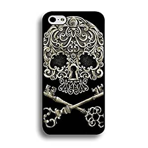Iphone 6 Plus 6s Plus 5.5 Inch Case,Wonderful Skull Pattern Design Flexible Protective Case Cover for Iphone 6 Plus 6s Plus 5.5 Inch