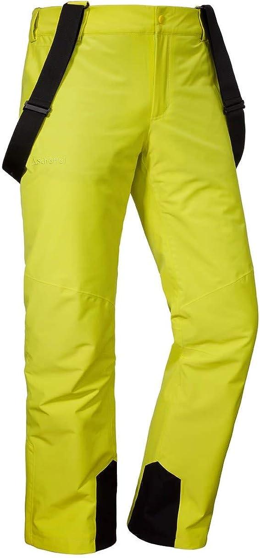 Gelb Schöffel Herren Ski Pants Bern1 wind- und wasserdichte Schneehose mit 2-Wege-Stretch, atmungsaktive und bequeme Herren Hose mit Schneefang