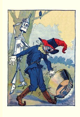 (ArtsyCanvas Wizard of Oz - The Tin Man and Scarecrow 32