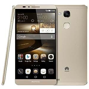 Huawei Ascend Mate 7 Mate7 Smartphone NFC FDD-LTE 4G 6.0 inch Octa Core 3GB+32GB EMUI 3.0 Hisilicon Kirin 925 1.8GHz 13MP Dual SIM 4100mAh Battery FDD-LTE+WCDMA+GSM (Gold), [Importado de UK]