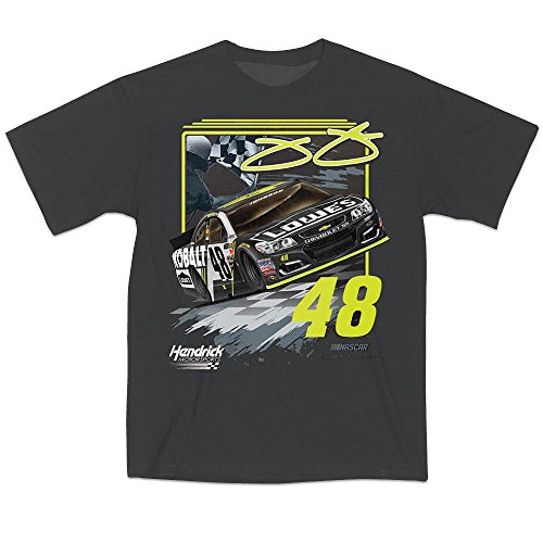 T-shirt Racing Johnson Jimmie (Jimmie Johnson #48 NASCAR Race T-Shirt (x-large))