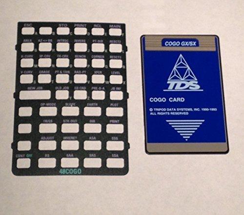 - TDS Survey Cogo GX/SX Card for the HP 48GX