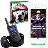 New 2018 Clicker Dog Training Collar With Remote Bundle. The humane dog shock collar for dogs that does not shock. 500 yards 100 levels Train Without Fear & Pain eBook & Cellphone Clicker training App