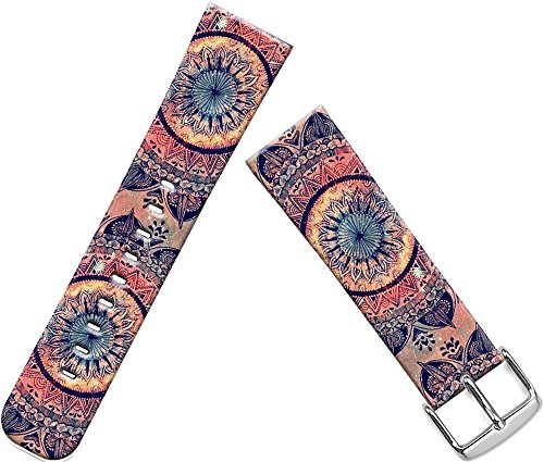 Apple Watch Band Women, Series 1/2/3 Sport & Edition Apple Watch Strap Replacement 38Mm Fantastic Round Floral Art Print