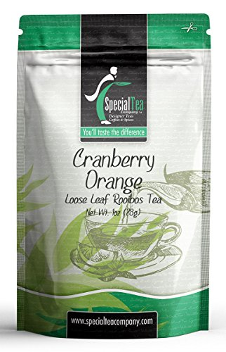 Special Tea Loose Tea Sample Pack, Cranberry Orange, 1 Ounce