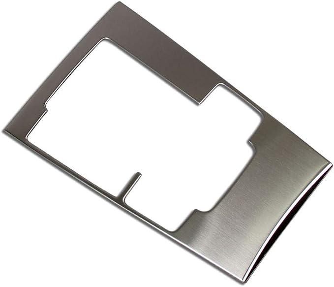 Center Console Multimedia Button Panel Cover Trim Fit For Mazda 3 Axela 2013-16