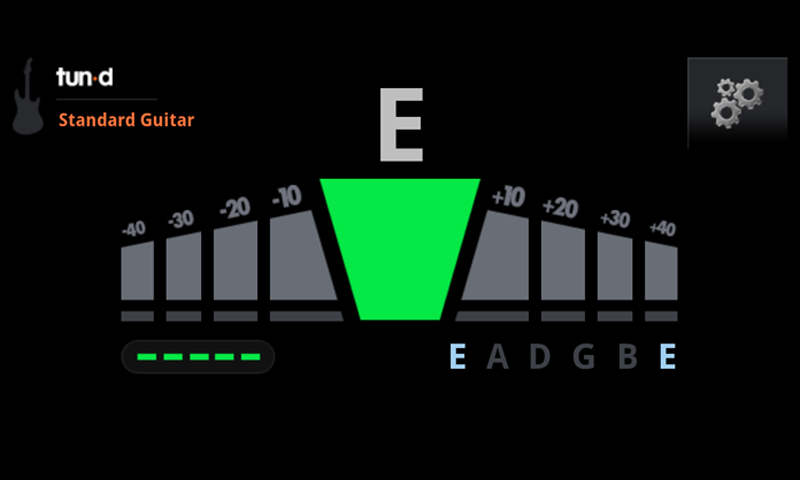 tun d free guitar tuner appstore for android
