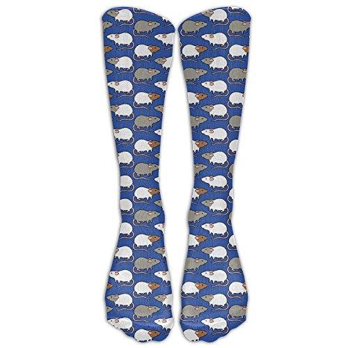 HZamora_Sock RAT Cartoon Cute Fashion Athletic SocksFor Men&Women All Sport Holiday One Size Shoe Size 6-10