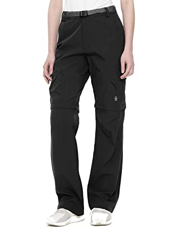 bdc1d7a07403d TOPSUN Womens Convertible Zip-Off Quick Dry Pants with Cargo Pockets for  Outdoor Hiking Travel