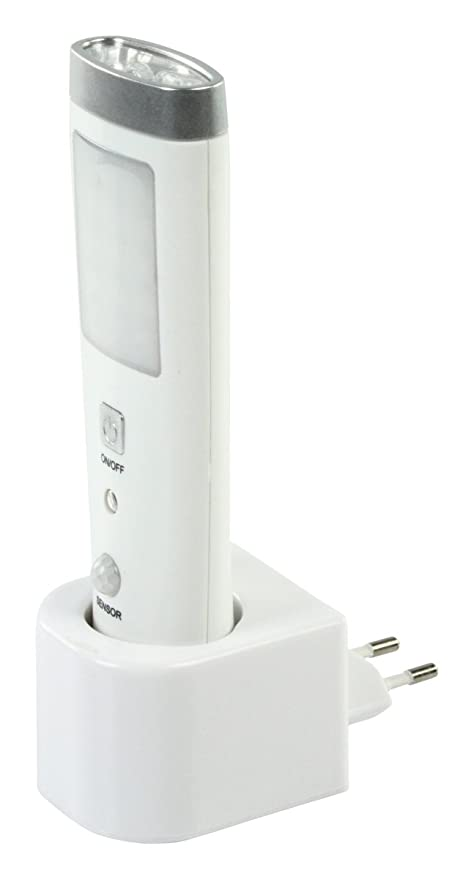 Drehflex® - Luz nocturna led con sensor de movimiento, linterna y luz de emergencia