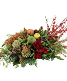 Allen's Flowers & Plants - Winter Gathering Centerpiece - Standard - Fresh and Hand Delivered - San Diego County
