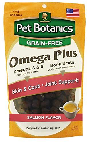 Pet Botanics Healthy Omega Salmon Plus For Dogs, 12 Oz (Omega Beef Treats)