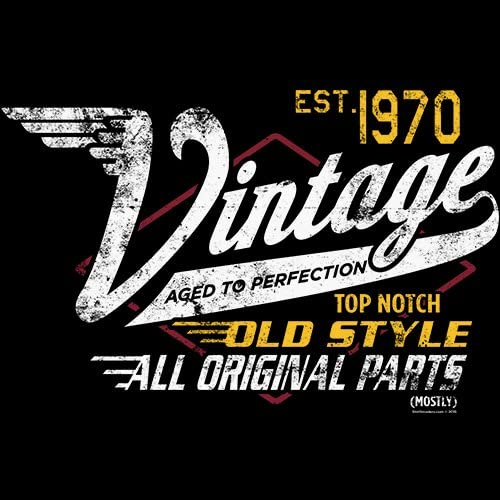 Vintage 1970 Aged to Perfection 50th Birthday Gift T-Shirt